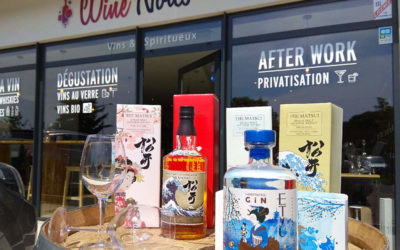 Dégustation whiskies de l'Ile d'Hokaido